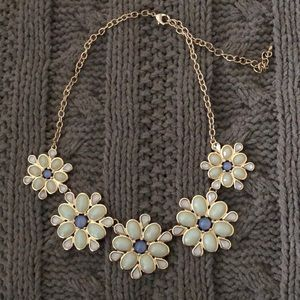 Jewelry - Blue Flower Necklace